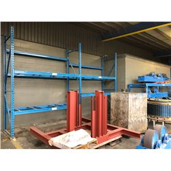 2 DOUBLE BAYS AND 3 SINGLE BAYS OF ARPAC PALLET RACKING