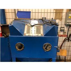 BLUE INDUSTRIAL ABRASIVE MACHINE