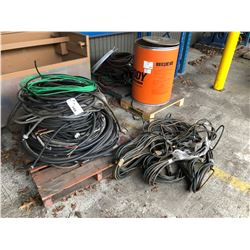 2 PALLETS OF ELECTRICAL WIRE & AXY HOSE