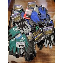 BOX OF ASSORTED WATSON GLOVES