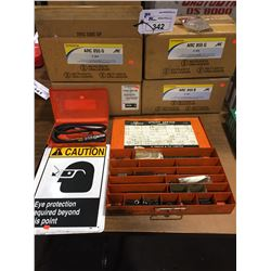 4 BOXES OF ARC 855 ANTI CORROSION, UTILITY SPRINGS AND MORE
