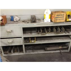 CABINET AND CONTENTS, INCLUDES, TOOLING, DIE GRINDERS AND MORE
