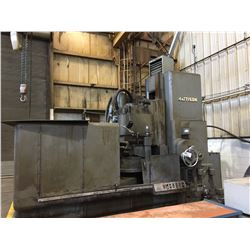 """MATTISON MODEL 48 - 60"""" DIA TABLE ROTARY SURFACE GRINDER W/36"""" HEIGHT UNDER GRINDING HEAD"""