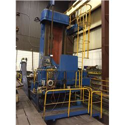 """SKODA MODEL WED160B SIN 0B21393 HORIZONTAL 6"""" SPINDLE BORING FLOOR MILL WITH 78'X78"""" 7 S;PT TABLE,"""
