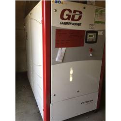 GARDENER DENVER MODEL V545-70AZ5 100 HP ROTARY SCREW AIR COMPRESSOR W/20,800 HOURS