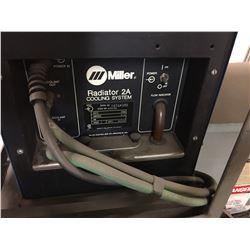 SPOT WELDER W/MILLER RESISTANCE SPOT WELDER, MILLER RADIATOR 2A COOLING SYSTEM & TRANSFORMER ON