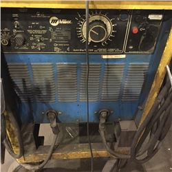 MOBIL MILLER GOLDSTAR 60055 CONSTANT CURRENT DC WELDING SOURCE WITH WELDING CABLES