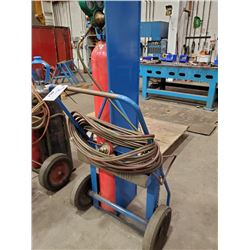TORCH  CART WITH HOSE  AND WELDING TIP