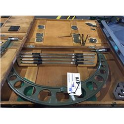 """MITUTOYO 20"""" - 24"""" MICROMETER  WITH CASE"""