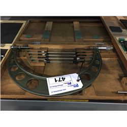 """MITUTOYO 12"""" -16"""" MICROMETER  WITH CASE"""