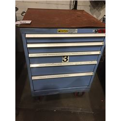 STOR-LOC 5 DRAWER TOOL CABINET