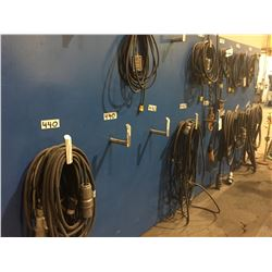 LOT OF 5 ELECTRICAL CORDS