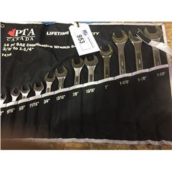 PTA 14 PIECE SAE COMBINATION WRENCH SET
