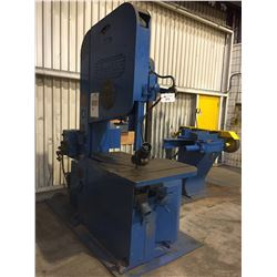 "DO ALL MODEL 36W 36"" VERTICAL METAL BANDSAW, WITH BLADE WELDER"