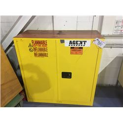 AGENT FLAMMABLE LIQUID STORAGE CABINET