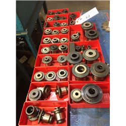 LOT OF QUICK RELEASE TAPPING COLLETS