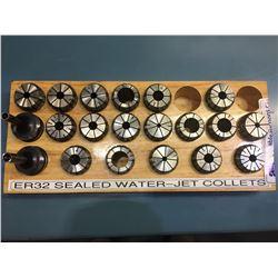 ER-32 SEALED WATER-JET COLLETS