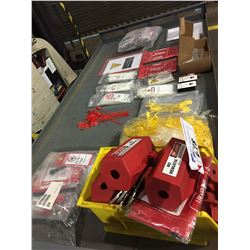 LOT OF LOCK OUT ACCESSORIES
