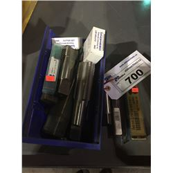 LOT OF ASSORTED TAPS & CUTTER SETS