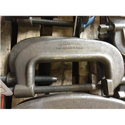 """2X 10"""" J.H WILLIAMS AND CO. C-CLAMPS"""
