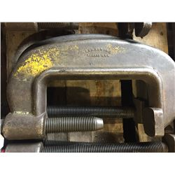 """2X 8"""" ARMSTRONG. C-CLAMPS"""