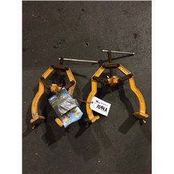2 ORANGE SUPER BRIDGE CLAMPING TOOLS