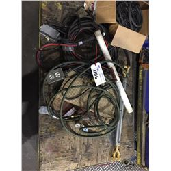 CONTENTS OF CART ,  HOSES, ELECTRICAL CORDS AND MORE (CART NOT INCLUDED)