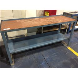 "2 TIER WORKBENCH 36""H X 72""W X 24""D"