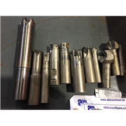 LOT OF MILLING, AND CUTTING TOOLS