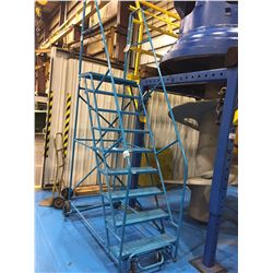 "BLUE MOBILE 9 STEP 80""  WAREHOUSE STAIRS"