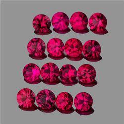 Natural  Red Burma Ruby {Flawless-VVS}