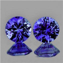 Natural Premium Violet Blue Sapphire Pair Untreated -FL