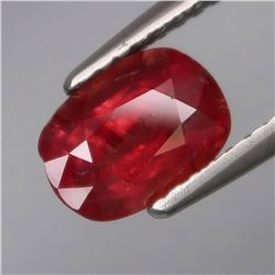 Natural Untreated Red Pink Winza  Ruby 1.76 Cts