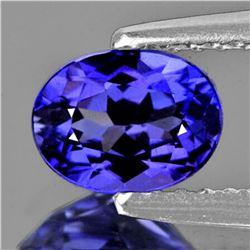 Natural AAA Purple Blue Tanzanite 1.06 Ct - FL