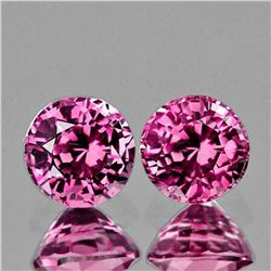 Natural Burma Pink Spinel Pair {Flawless-VVS1}