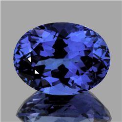 Natural AAA Purple Blue Tanzanite 1.02 Cts - FL