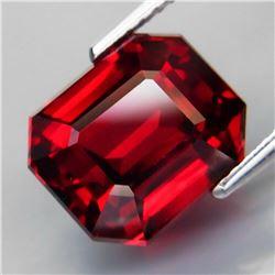 Natural Red Rhodolite Garnet 7.74 Cts - Untreated