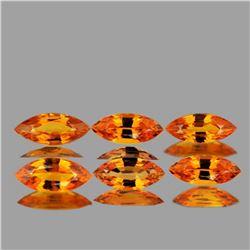 NATURAL ORANGE SAPPHIRE 5x2.5 MM - FL