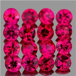 Natural Red Burma Ruby 35 Pcs - Untreated