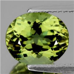 Natural Fire Canary Yellow Apatite 3.19 Cts(VVS)