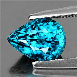 NATURAL PREMIUM ELECTRIC BLUE ZIRCON 5.85 Ct - FLawless