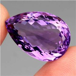 Natural Purple Amethyst 25.94 Cts - Unheated