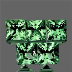 Natural AAA Green Sapphire 5 Pcs[Flawless-VVS]