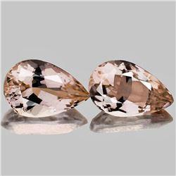 Natural Golden Pink Morganite [Flawless-VVS]