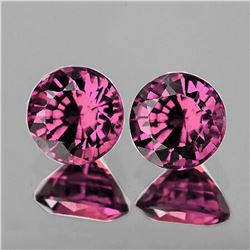 Natural Pink Burma Spinel Pair {Flawless-VVS1}