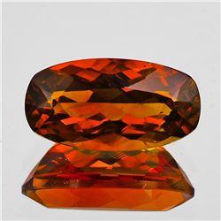 Natural Rare Madeira Orange Citrine {Flawless-VVS1)