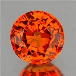 Natural Intense AAA Orange Sapphire {Flawless-VVS}