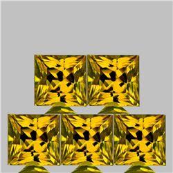 Natural Intense AAA Golden Yellow Beryl 'Heliodor' FL