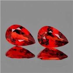 Natural Red Ruby Pair 5x3 MM [Flawless-VVS]