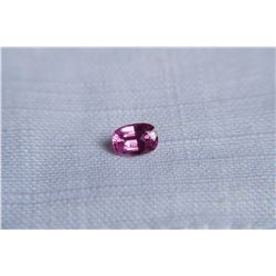 Hot Pink Sapphire, handcrafted cut | IGL 0.863 ct